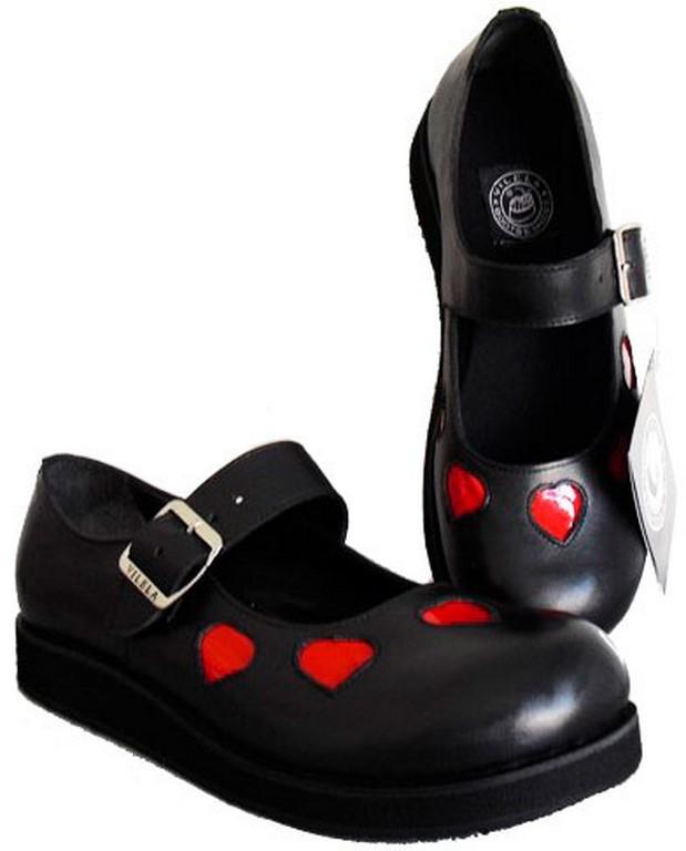 64f7d72924 Sapato Boneca Solado Baixo Com Coração Couro Ref197 no Elo7 ...