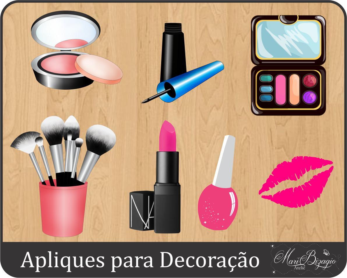 Apliques maquiagem no elo7 mari bizagio ateli a51ce2 - Apliques de pared originales ...
