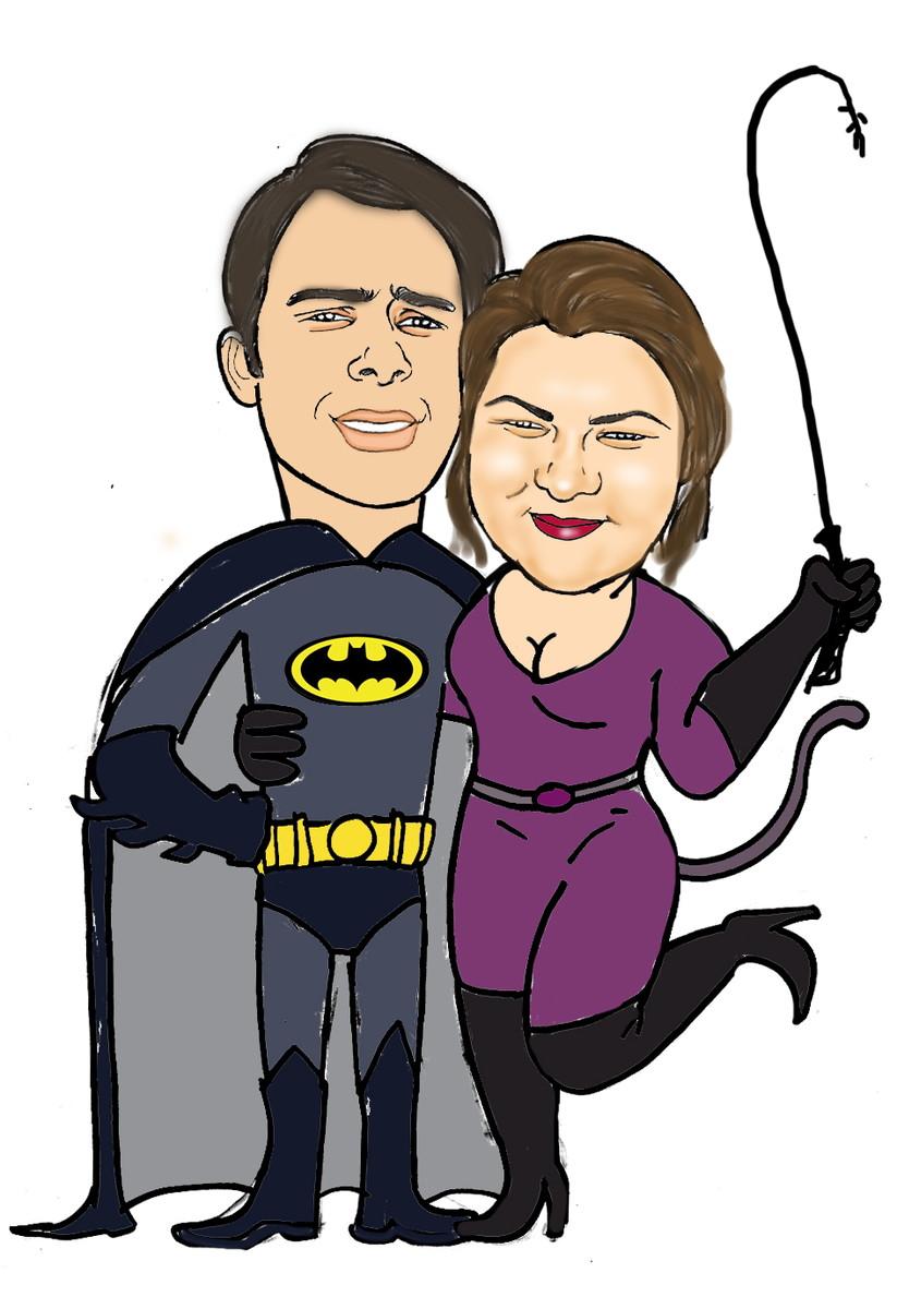 Presente De Namorado Caricatura Desenho No Elo7 Ismecio
