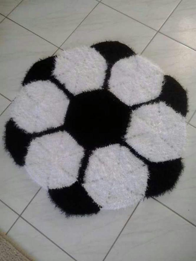 658124a7f tapete bola de futebol no Elo7