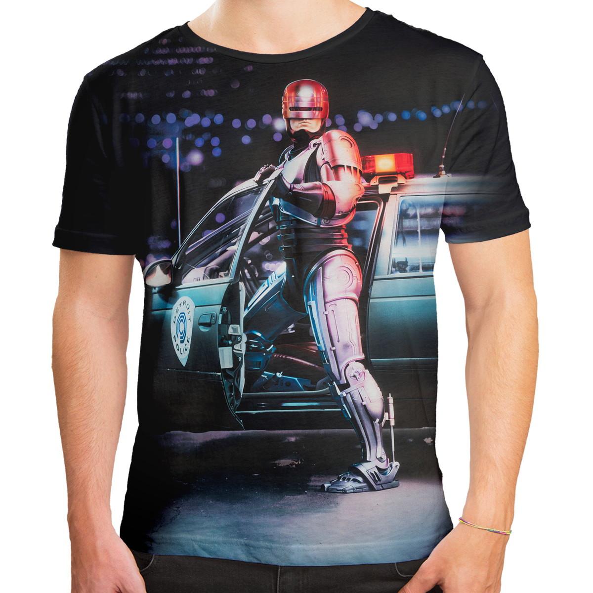 842c0e20d Camiseta Masculina Robocop O Policial Do Futuro Alex Murphy no Elo7 ...