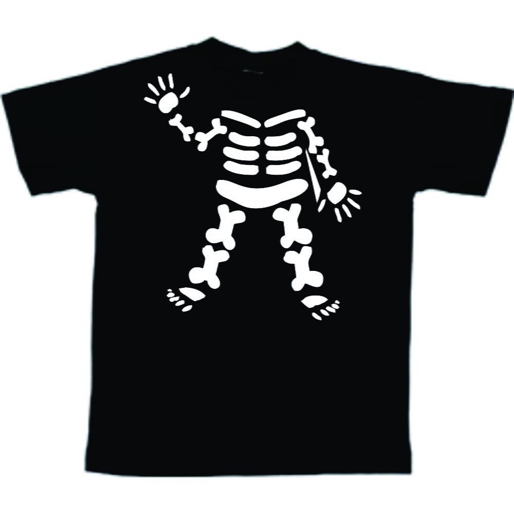 d77b19fc8 Camiseta infantil de caveira para halloween- camiseta no Elo7