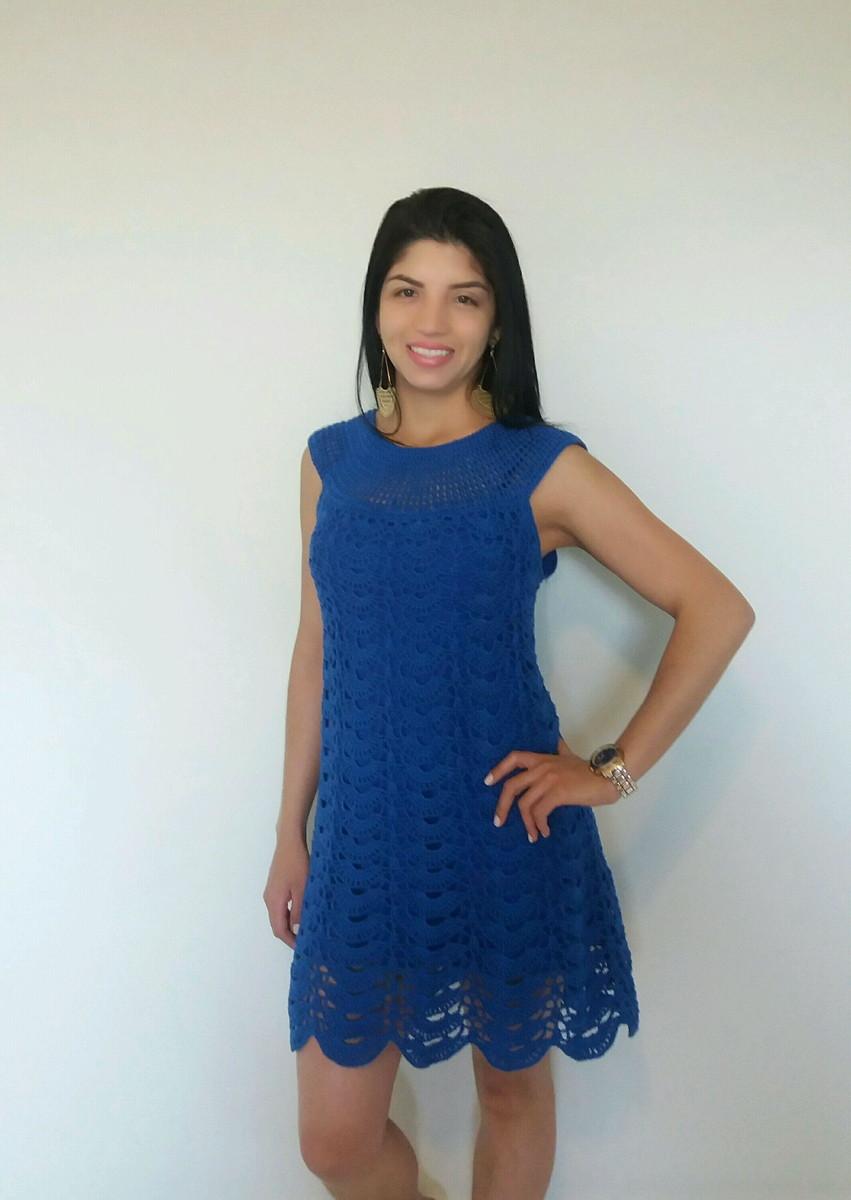 Vestido azul bic comprar