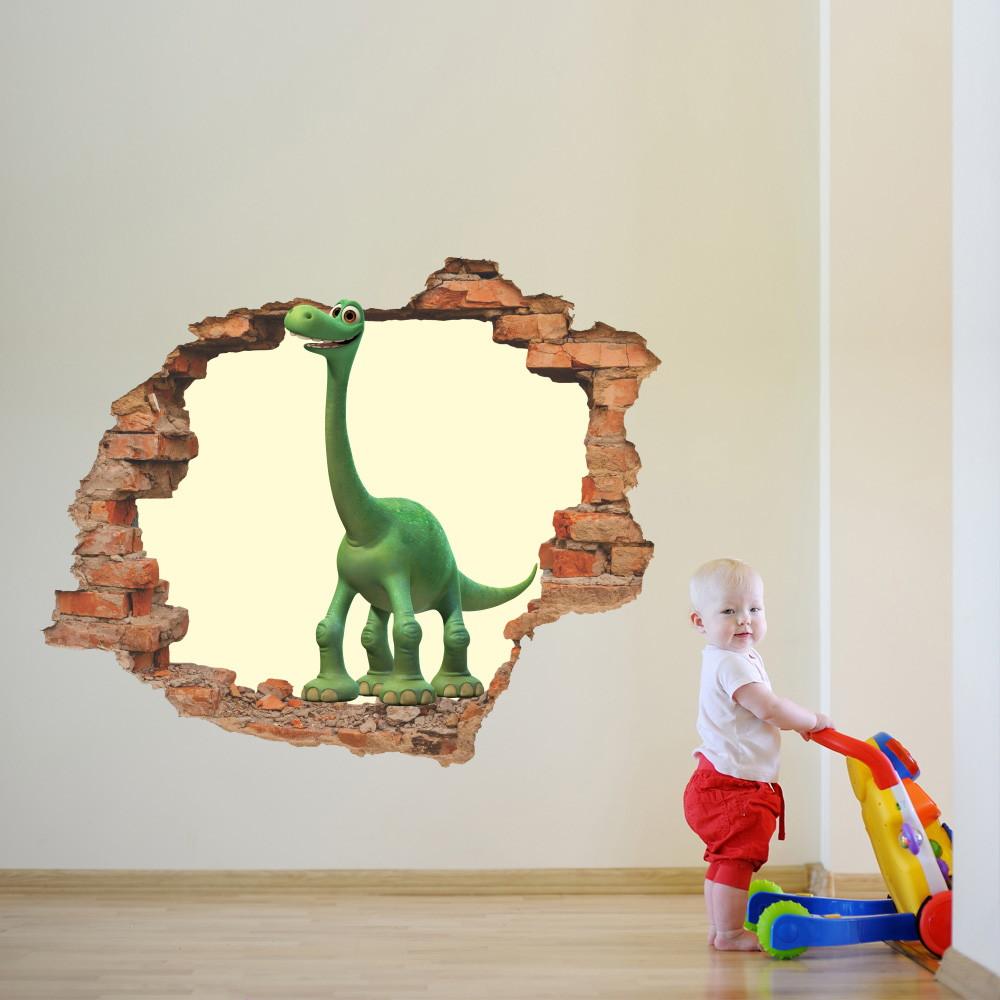 654b25ab3 Adesivo Buraco na Parede (O Bom Dinossauro) no Elo7