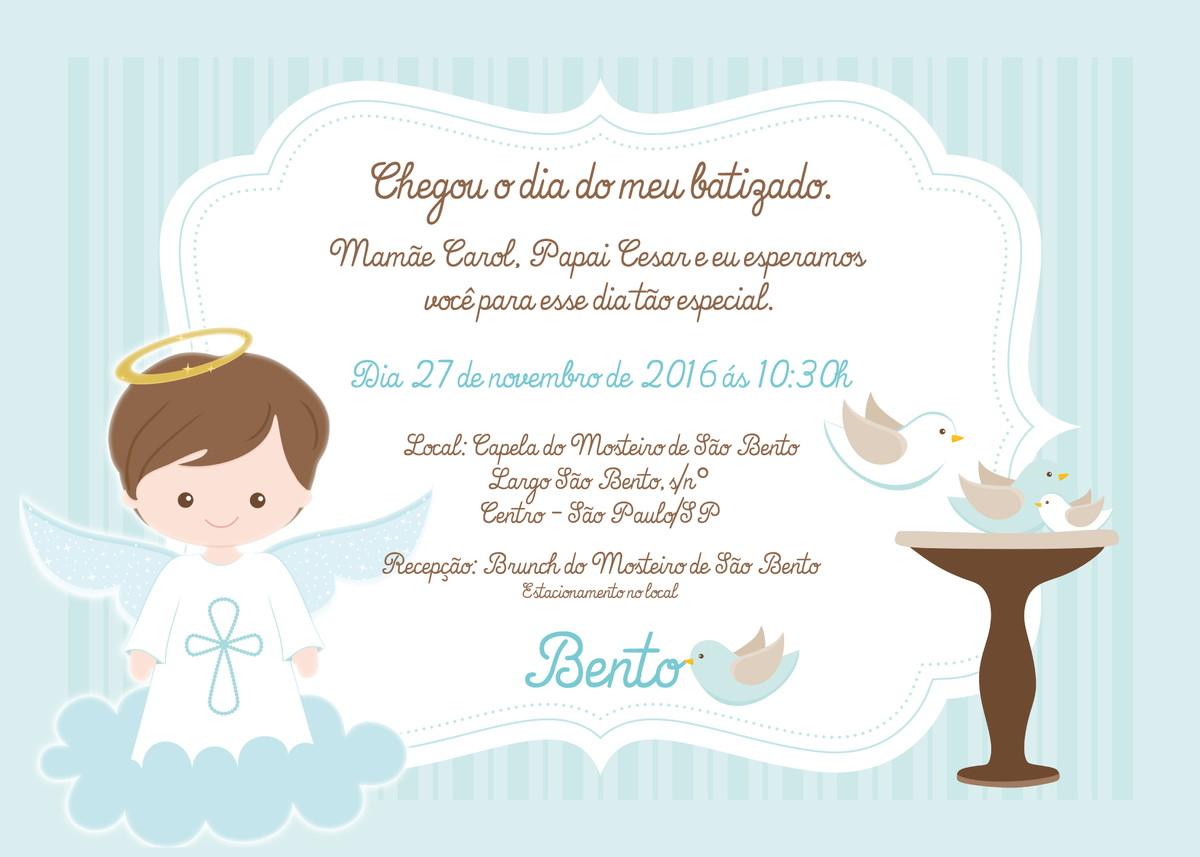 Convites de batizado fazer online dating