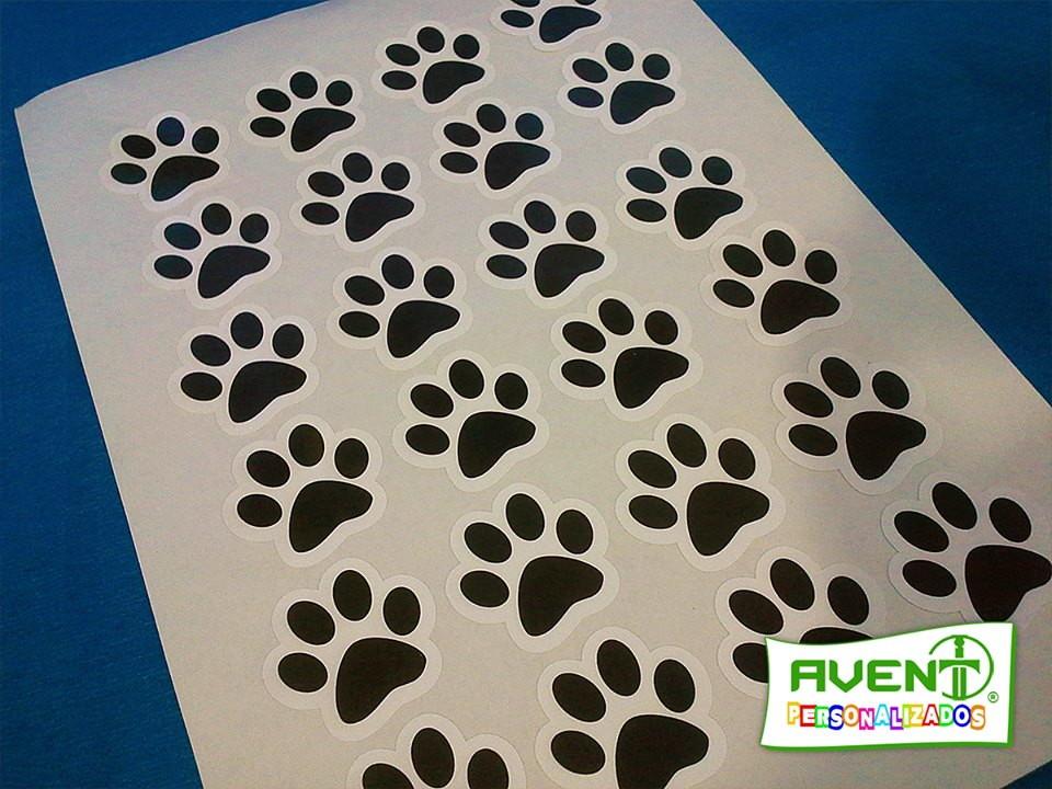 6087bfea81179 Folha com 24 Adesivos de Patinhas Patrulha Canina no Elo7   AVENT .