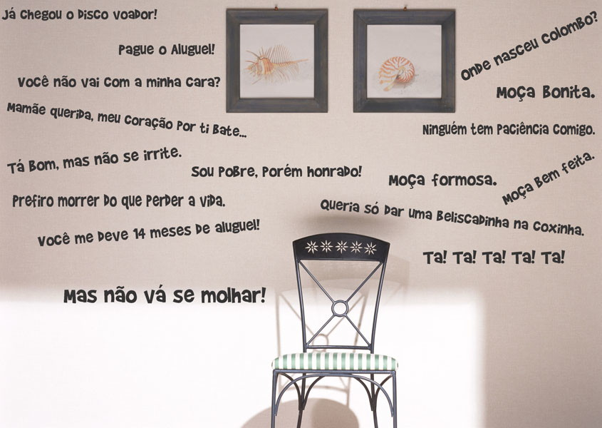 Adesivo Decorativo Frases Séries Chaves No Elo7 Gaudesivos A6b7a3