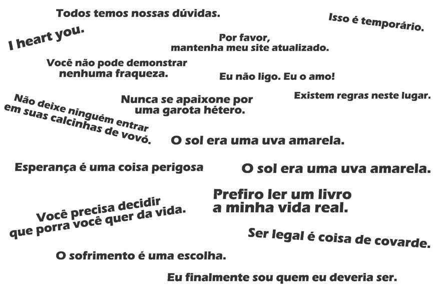 Adesivo De Parede Frases Series Orange Is The New Black No Elo7