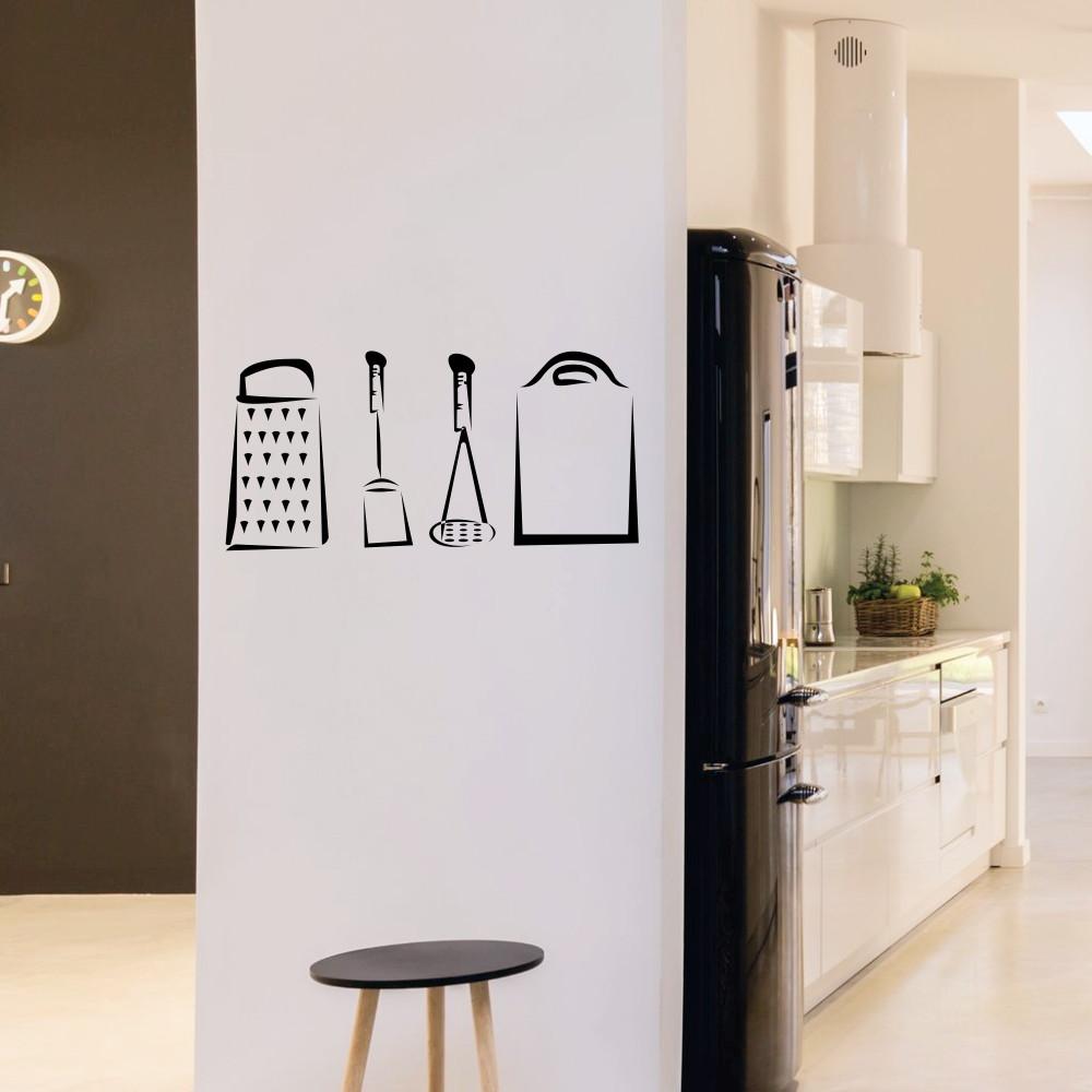 Adesivo Utens Lios Cozinha No Elo7 Decorando Seu Lar A6d168