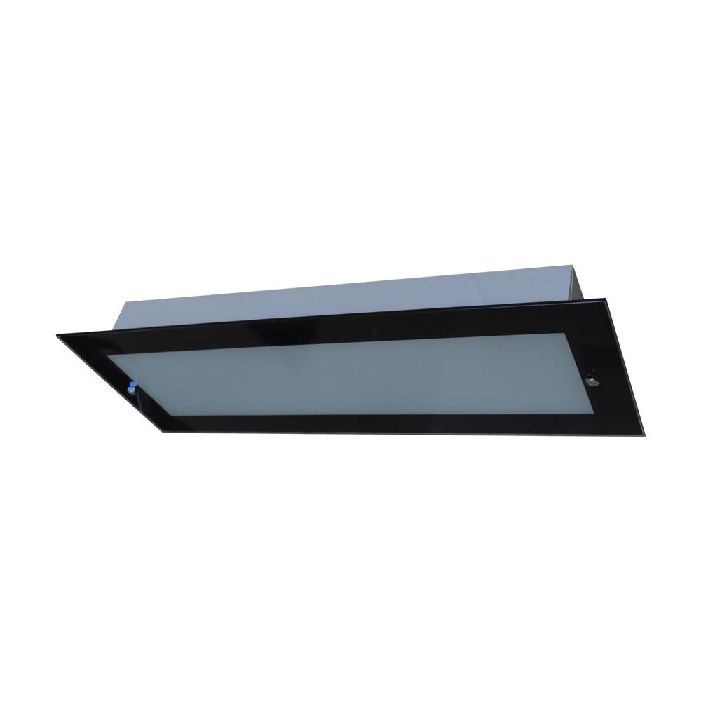 Luminaria Plafon Para Cozinha 4 L Mpadas Vidro Preto No Elo7
