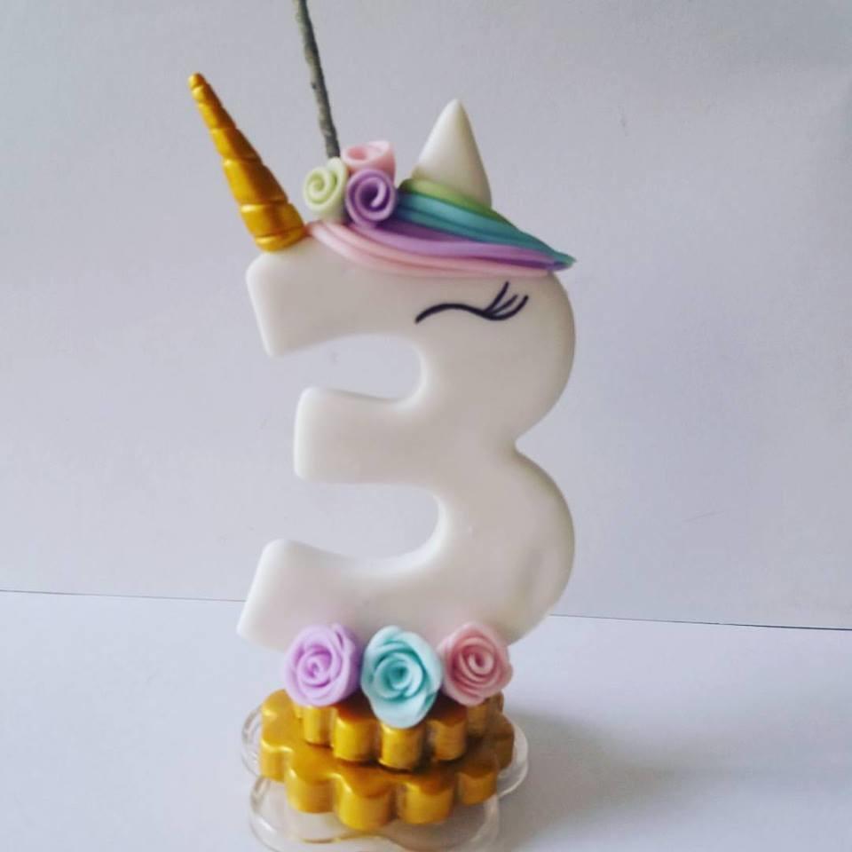 Artesanato Unicornio ~ Vela Unicórnio Loja Ateli u00ea Mundo do Biscuit Elo7