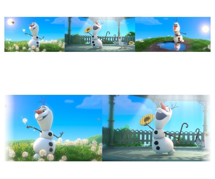 Faixa Adesiva Border Frozen Olaf Mod215 No Elo7 Colorcards