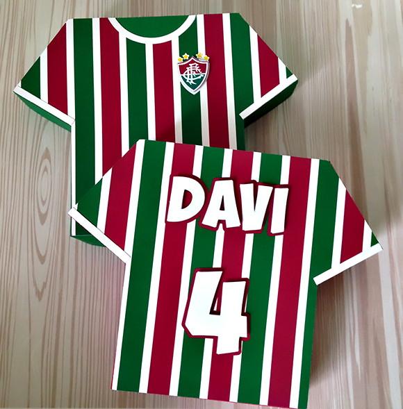 83fd3f44de Zoom · Caixa Camisa Time de Futebol - Fluminense