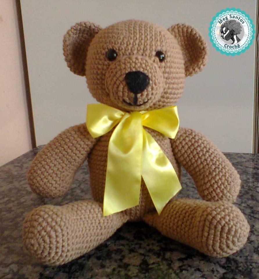 Urso amigurumi passo a passo – Bonek de Crochê | 960x892