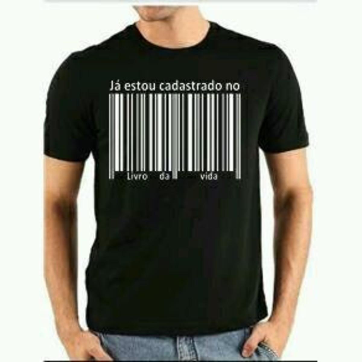 7ecfb9dbb7 Camiseta gospel no Elo7