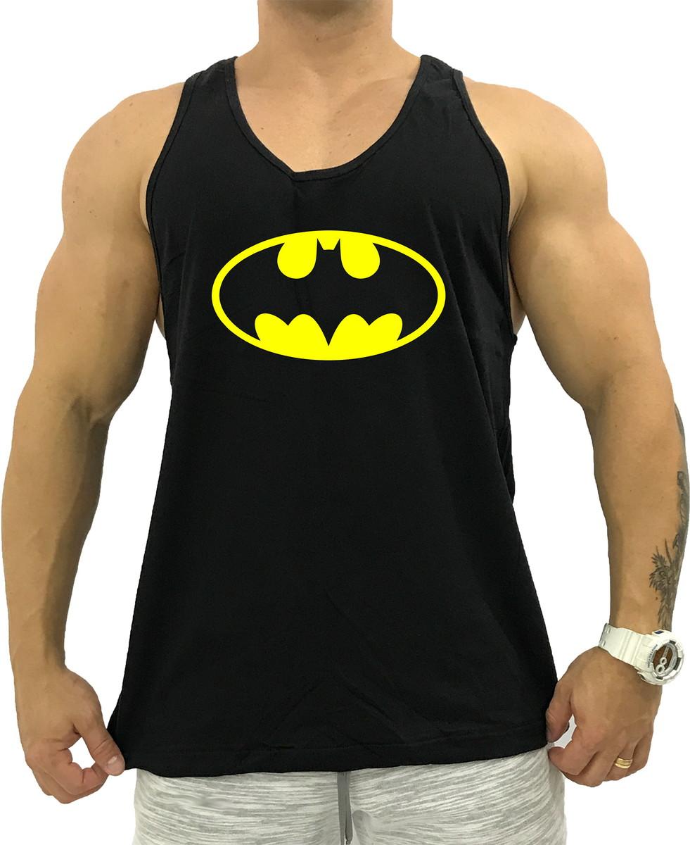 b359317631 Regata Academia Cavada Preta Batman 20 no Elo7