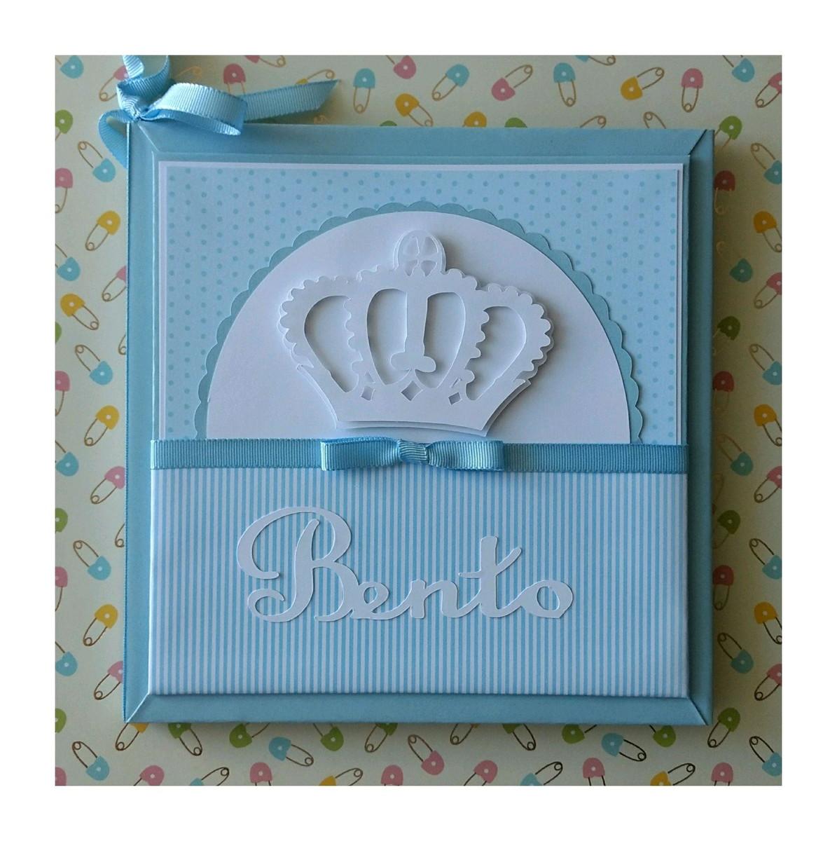 d82183600 Diário Livro Bebê personalizado para menino Príncipe azul no Elo7 ...