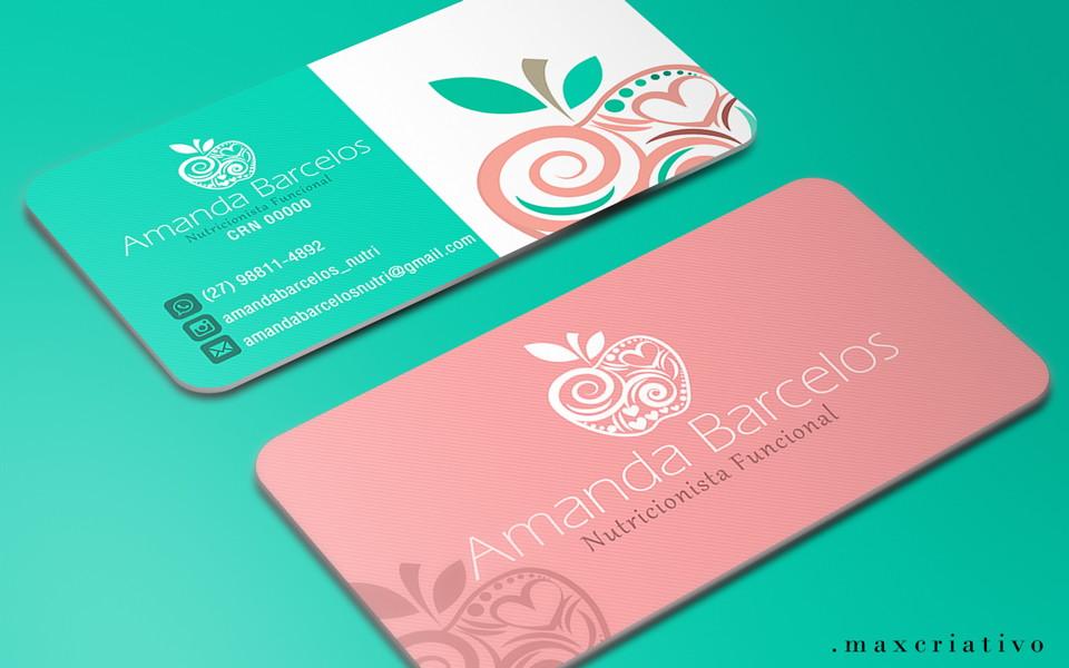 para nutricionista cartão de visita no elo7 max criativo 6e83bb
