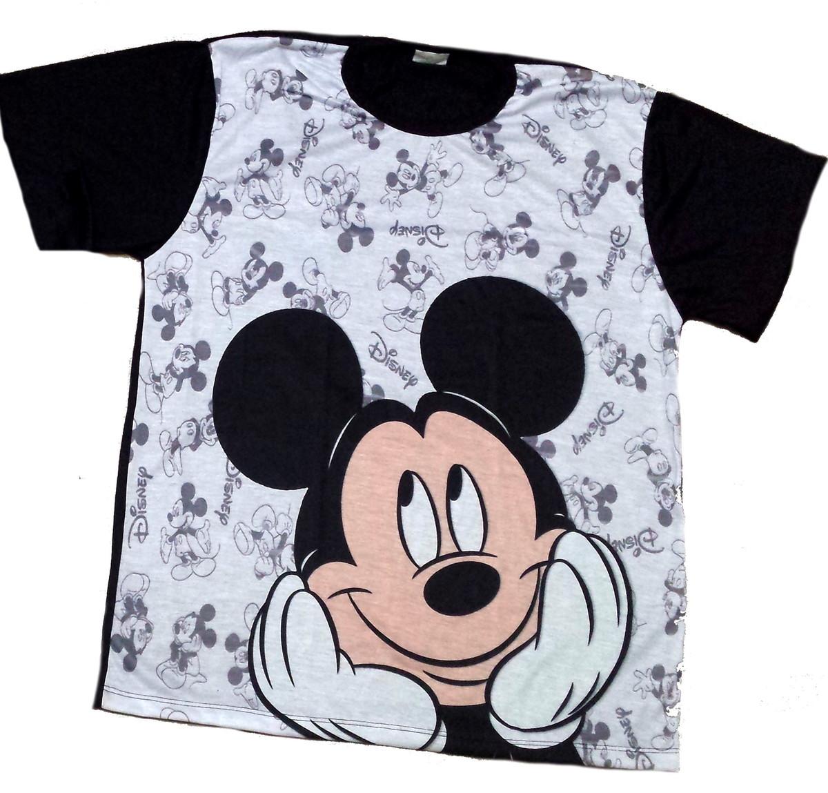 87326d8370 Blusa masculina Mickey no Elo7