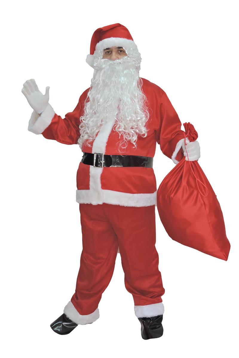 5b11a345c Fantasia Papai Noel,roupa,kit 9pçs -melhor Preço E Qualidade no Elo7 ...