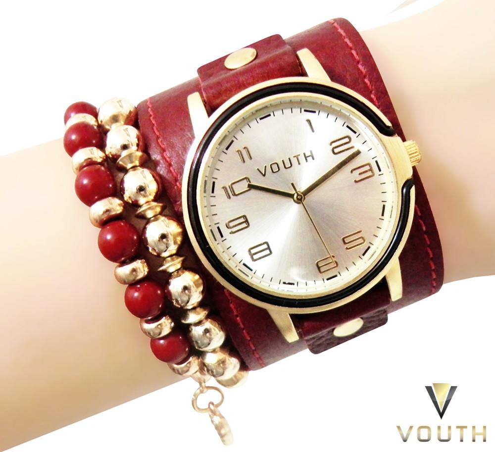 ec967ef495f Relógio Feminino Bracelete Pulseirismo no Elo7