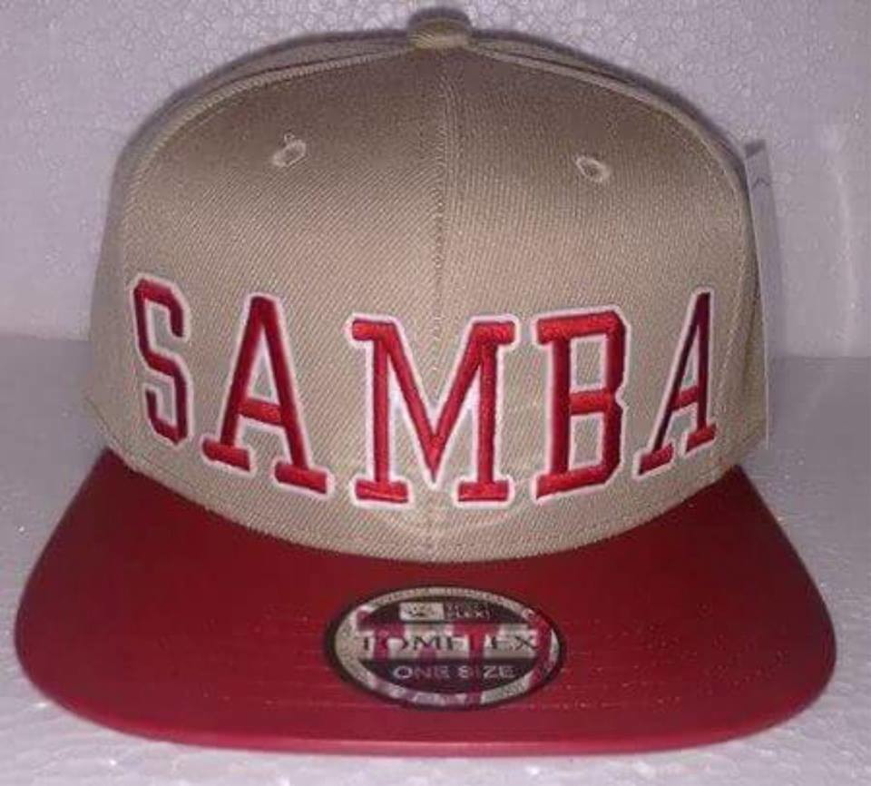 Boné Snapback Samba no Elo7  b9ab2ce1186