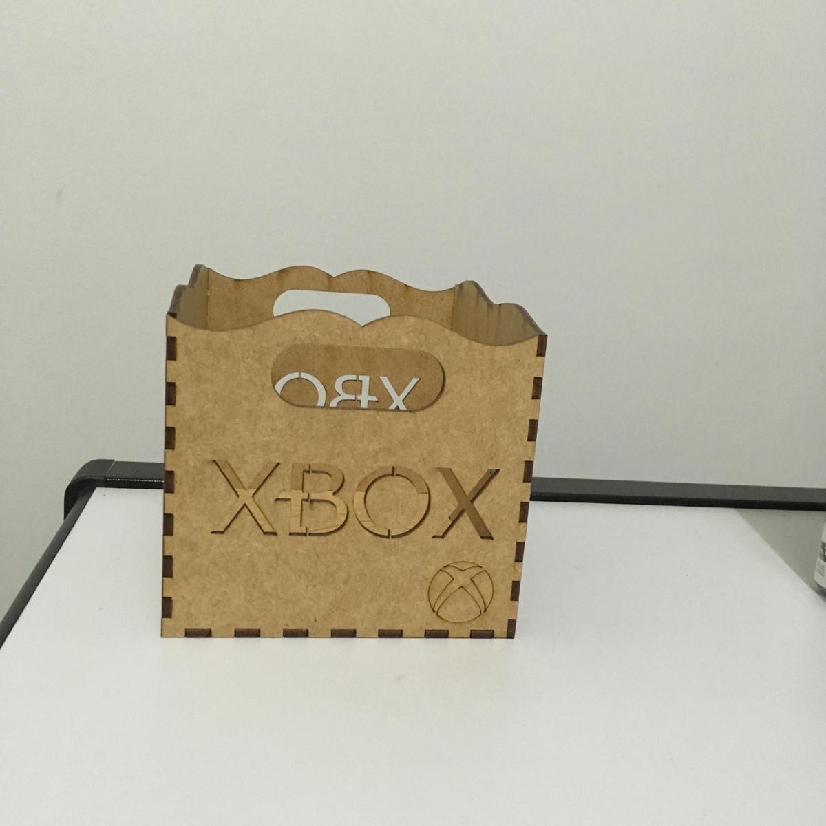 Caixa Porta Jogos XBOX em MDF no Elo7   Casa Do MDF Amparo (A9FB25) 9cec7e6457