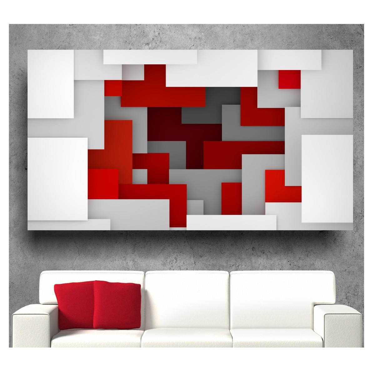 Adesivo De Parede Abstrato Painel Moderno 2x1m Sala S74