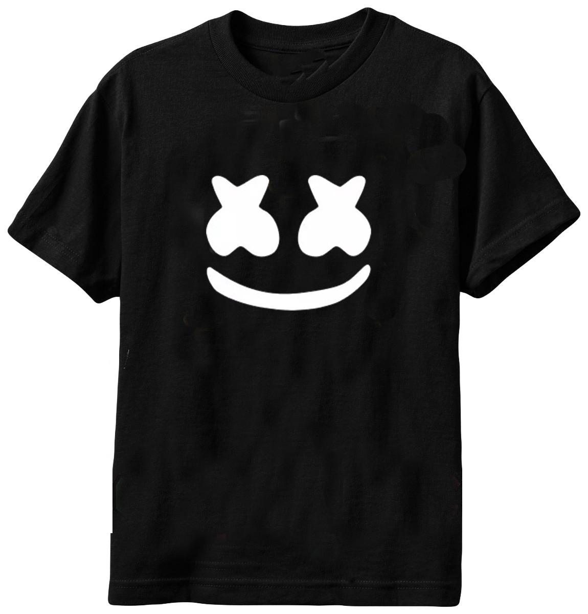 camiseta dj marshmello lollapalooza 2018 dj marshmello no elo7