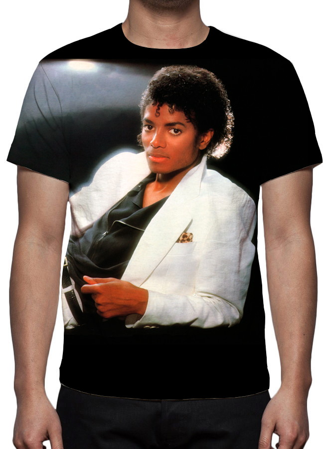 Camiseta Michael Jackson - Thriller - Estampa Total no Elo7 ... 1bcf3e51118a6