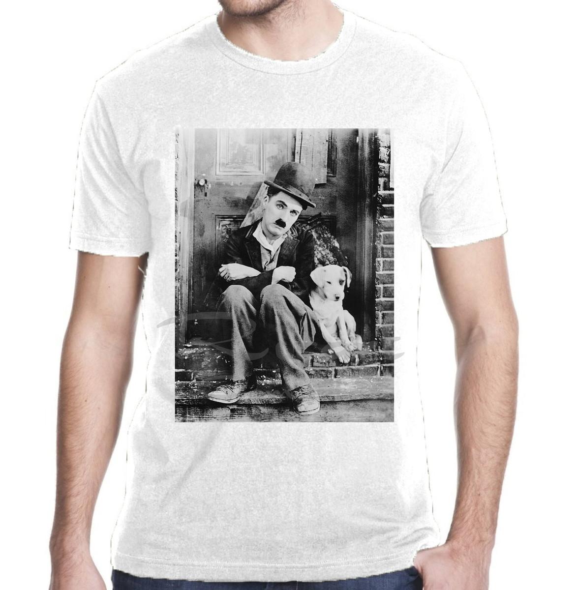 Camiseta Charlie Chaplin Filme no Elo7  7346966b80f03