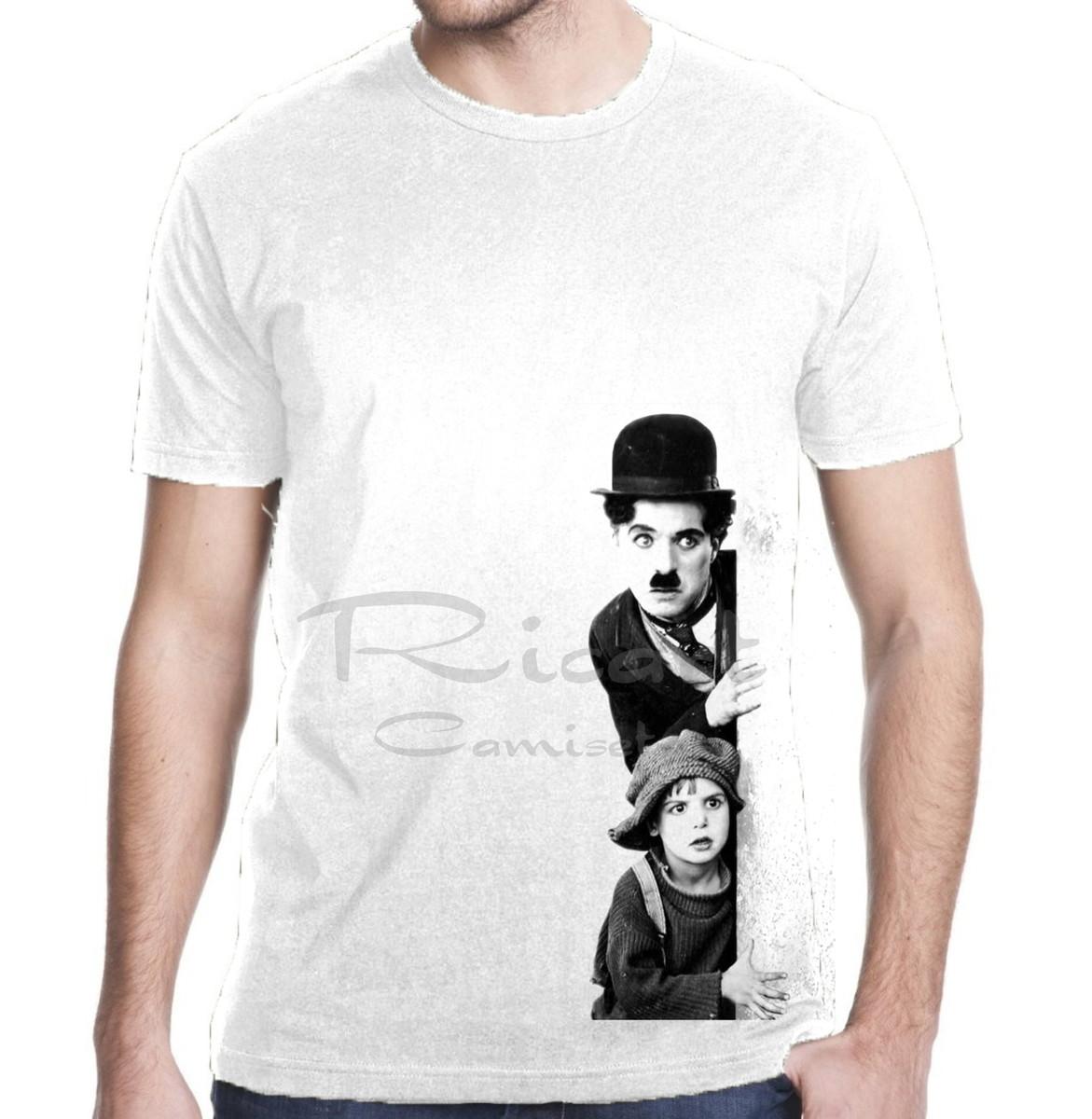 Camiseta Charlie Chaplin Filme Mod 01 no Elo7  6de6cb8b93c5f