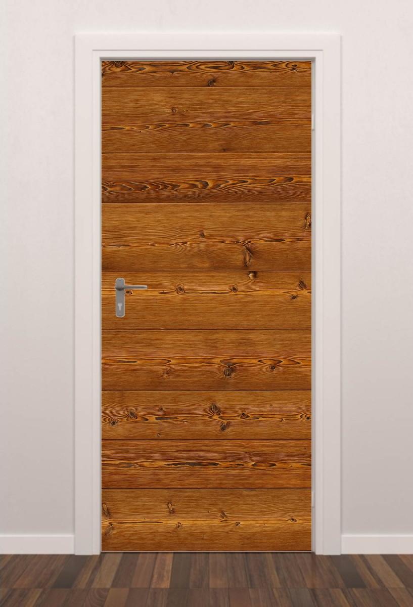 Adesivo Porta Textura Madeira M01 Quarto Sala Banheiro Geladeira  ~ Customização De Objetos Para Quarto