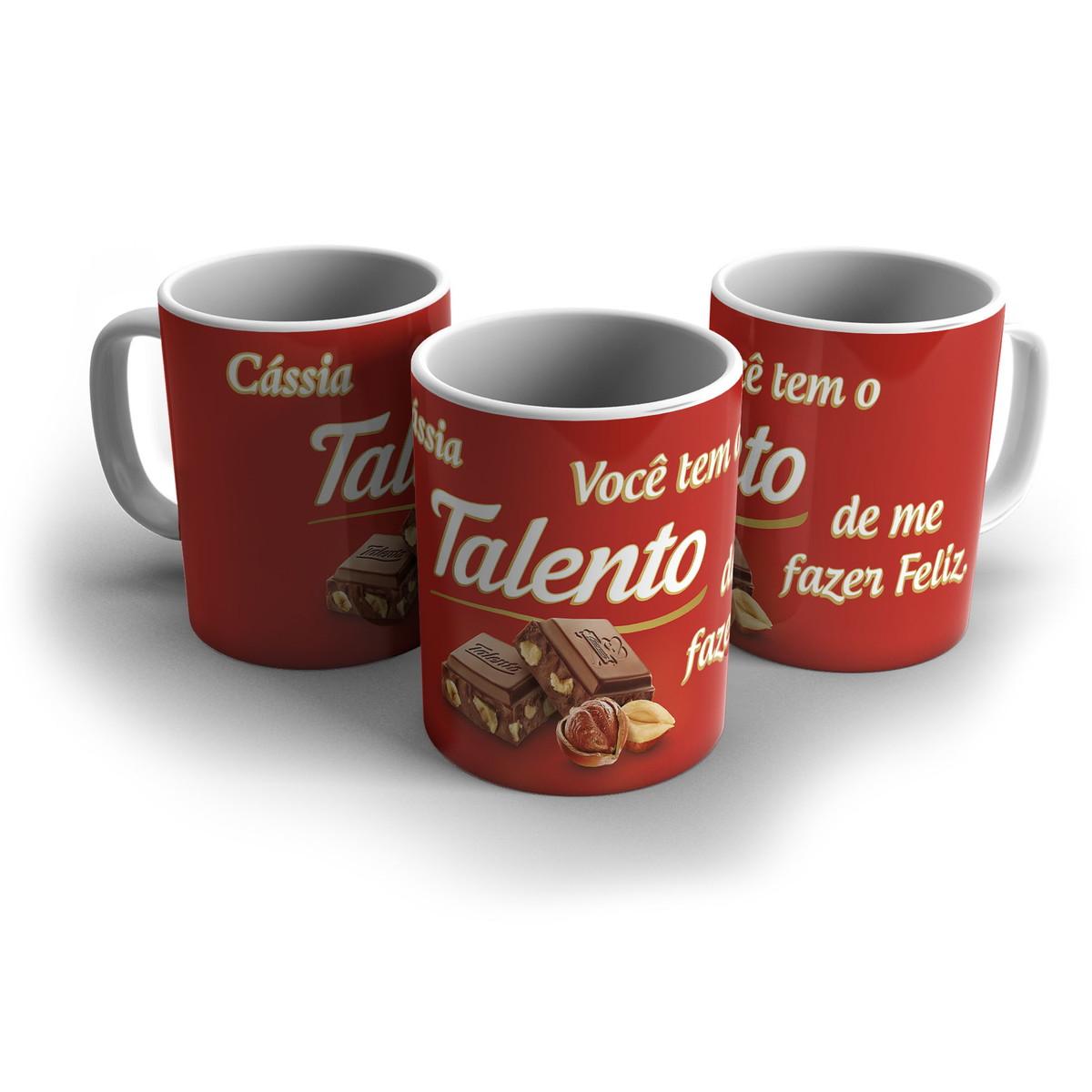 Caneca Personalizada Namorados Chocolate Frases 03 No Elo7 Foto