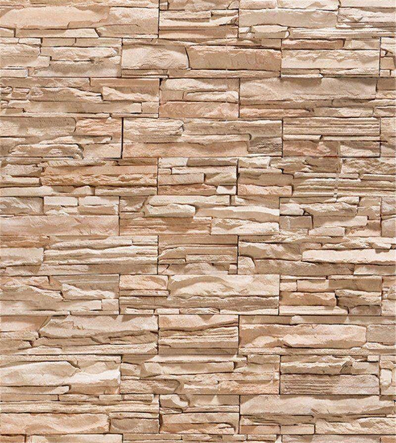 e8274df85 Zoom · Papel de parede canjiquinha 3d cinza e marrom claro (2