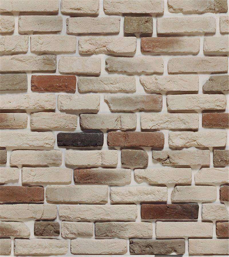 07a08eaa3 Papel de parede tijolo bege