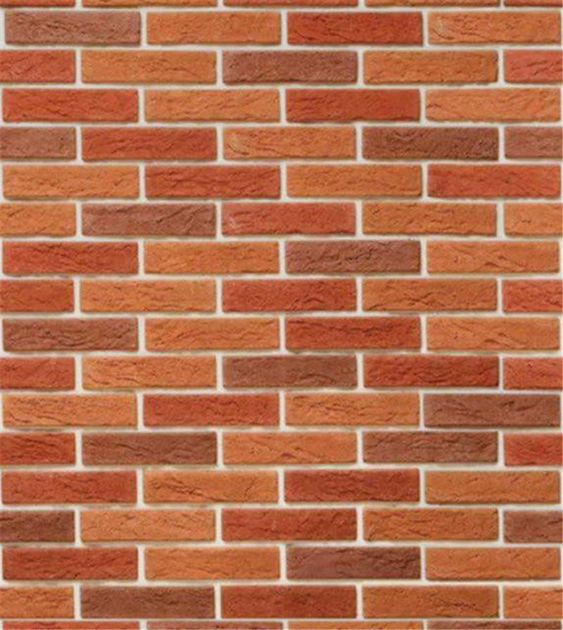 a919a3294 Papel de parede tijolo laranja