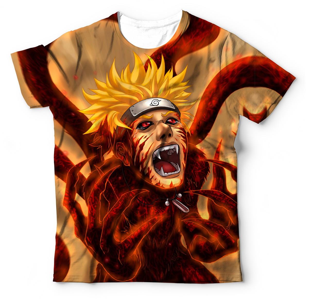 fab4ed543 Camisa Camiseta do Naruto shippuden Manga Curta no Elo7