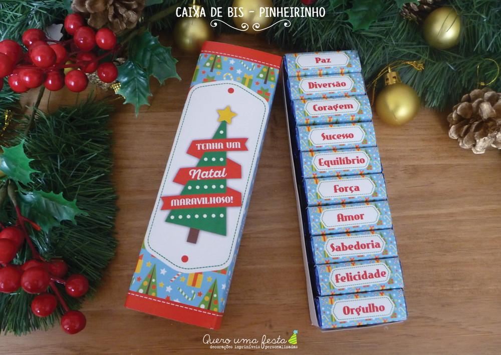 Caixa De Bis Pinheirinho Para Imprimir No Elo7 Quero Uma Festa