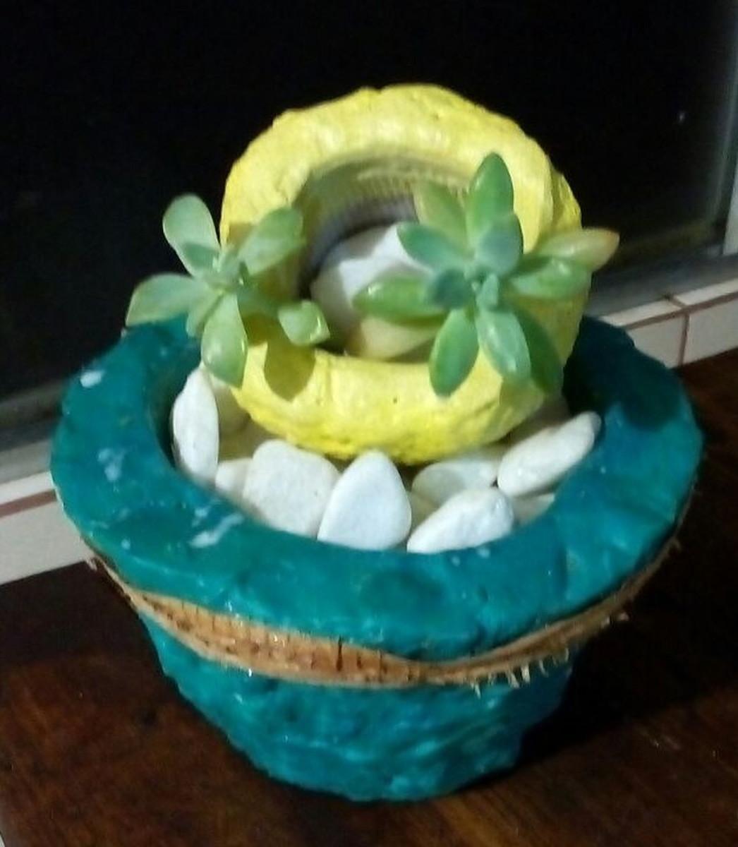Artesanato Sustentável ~ Vasos De Artesanato Sustentável no Elo7 Rosa de Saron Artesanato Sustentável (AB98F2)