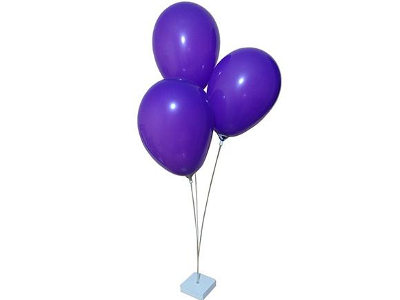 15 Suportes De Mesa 3 Bolas Balão Bexiga Enfeite Para Festa No Elo7