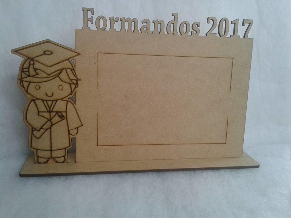 Zoom · Porta Retrato Formandos 2017 MDF CRU