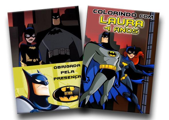 Revista Para Colorir Batman Batgirl 14x10 No Elo7 Tudo De Festa