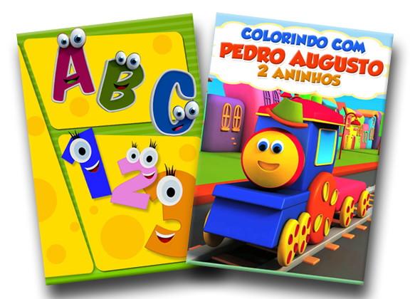 Revista Colorir Bob O Trem 14x10 No Elo7 Tudo De Festa Galvao