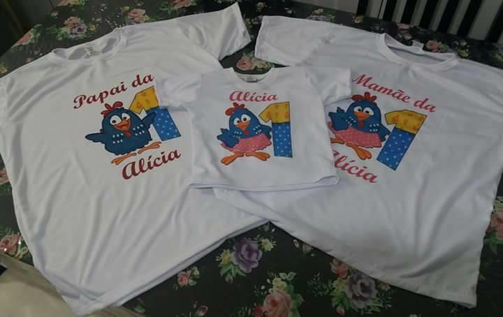 964752dd5c Camisetas personalizadas barata no Elo7