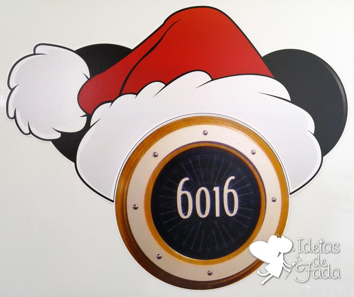 75f26093aba21 Orelha Mickey Gorro de Natal para Escotilha no Elo7
