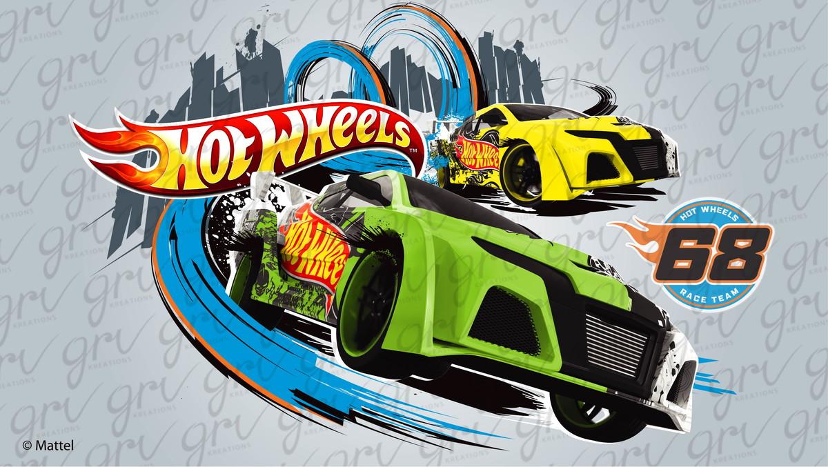 Painel Hot Wheels 1 00 X 0 70m No Elo7 Painel Lona Ac1d1b