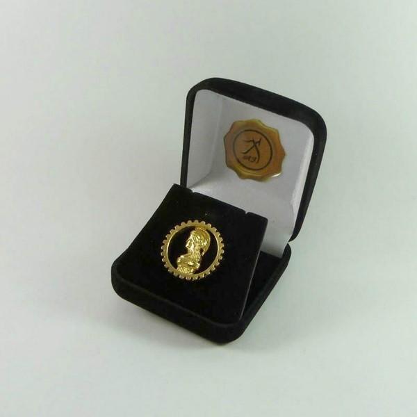 Boton Pin Engenharia Civil - CONFEA -Folheado Ouro 18K no Elo7 ... 738e743f1a