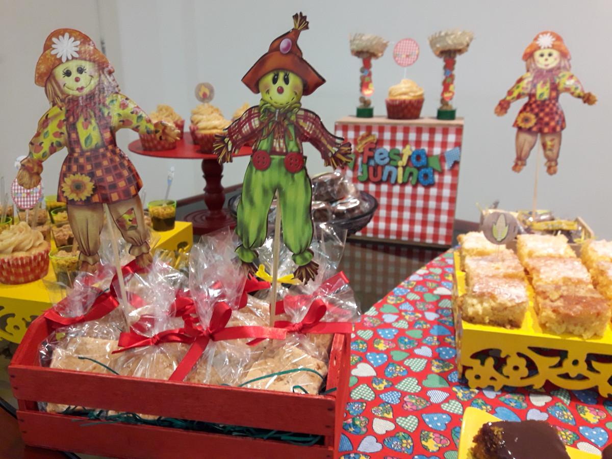 Decoraç u00e3o de Festa Junina no Elo7 Chubs Decor (AC825F) -> Decoração Para Festa Xadrez
