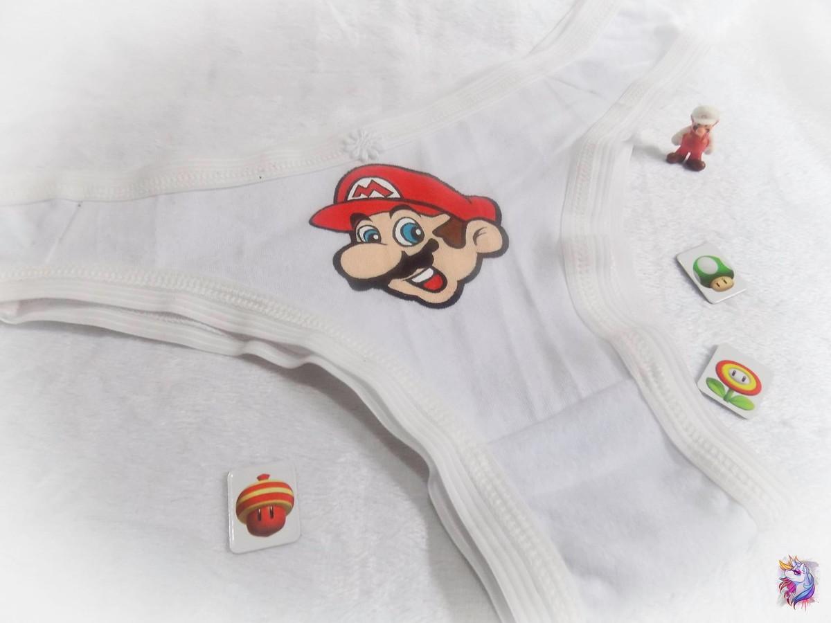 bda8d7b94 Calcinha Super Mario Bros Lingerie no Elo7